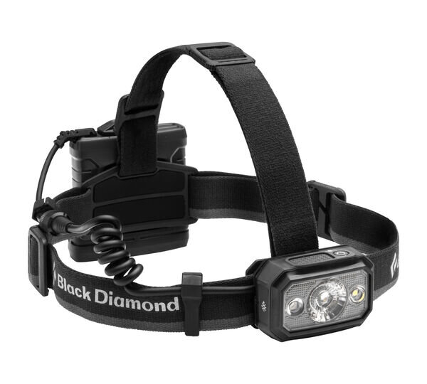 Black Diamond Icon 700 Headlamp very bright and on the large end of headlamps.