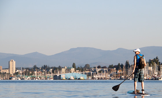 Stand up Paddle Boarding in Nanaimo