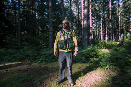 RIBZ Front Pack fits with backpacks - PureOutside