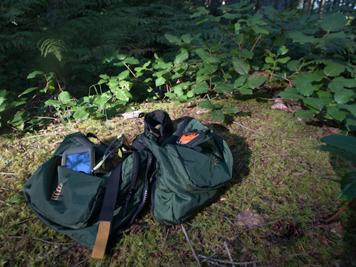RIBZ Front Pack holds a lot - PureOutside