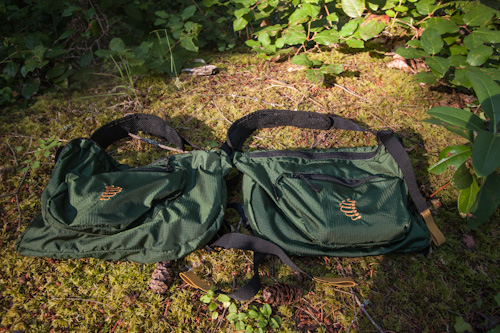 RIBZ Front Pack 2 pouches - PureOutside