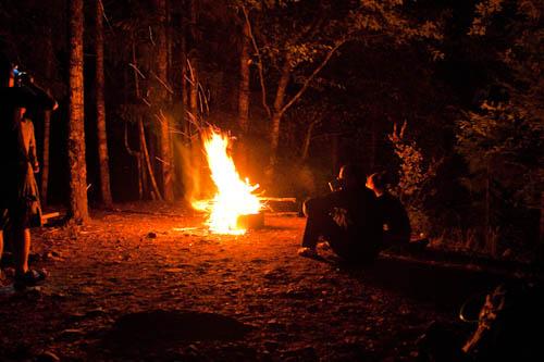 Hornet Cooking Fire