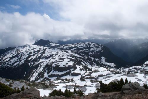 Marble Meadows from McBride ridge