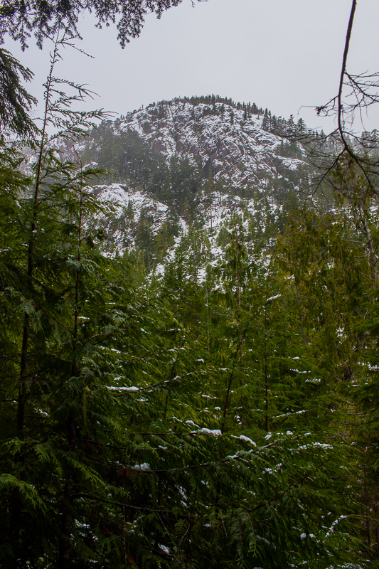 Snow on the hills | Arrowsmith CPR Trail Trip Report