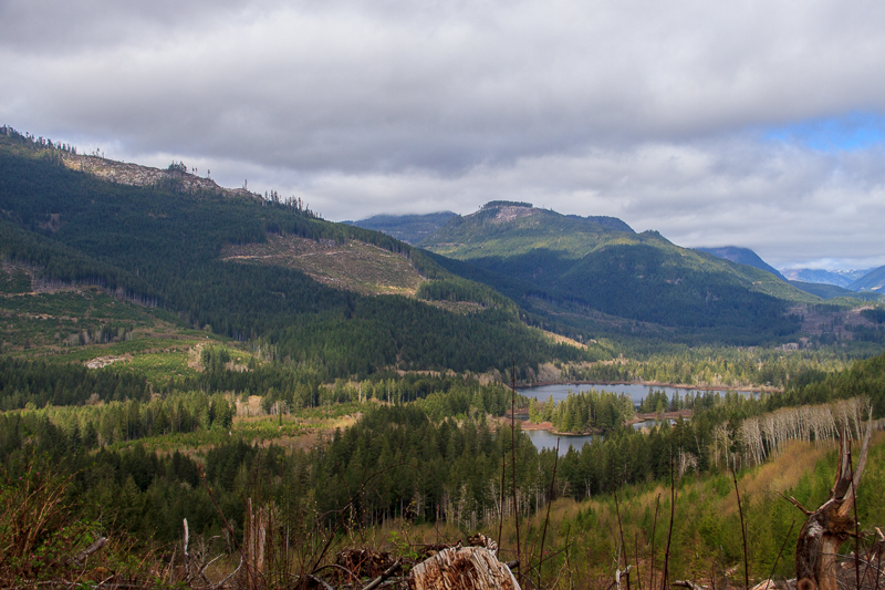 Tuck Lake in the distance