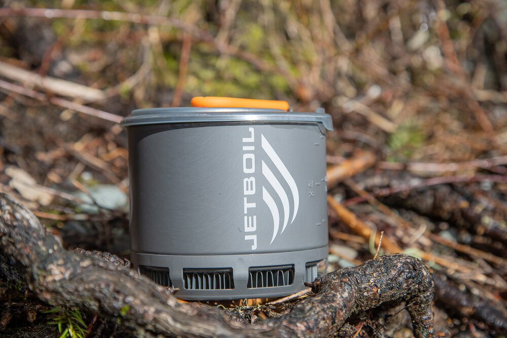 Jetboil Stash all packed up